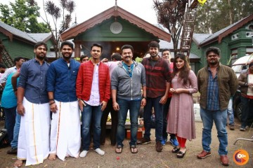 Naragasooran Team Celebrated Aytrha Pooja Photos (4)
